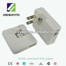 5W usb wall chargers ac 110-240v (JP/USA plug)