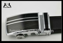 2013 classic business leather auto metal buckle