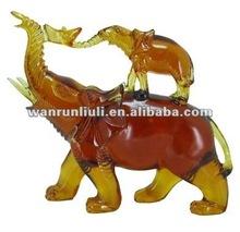 artigianato arte del regalo figurine elefante di cristallo