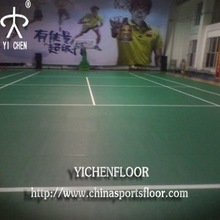 YICHEN pvc sports flooring especially for basket ball ,table tennis