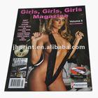 professional printed adult magazine