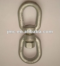 Hot dipped galvanized forged regular swivel link
