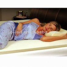 queen knitting latex mattress topper