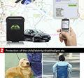 Mini chip de rastreamento gps102, Alimentado por bateria, Sos, Geo - cerca para pessoas / veículos