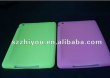 soft rubber skin cover case for apple ipad mini