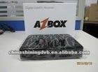 2012 new azbox bravissimo TWIN HD with IKS/SKS