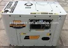 factory price!!! 5kva silent diesel generator with 100% cooper alternator