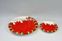 christmas porcelain dinnerware for daily used