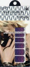 nail art 2013 design nail decoration expert nail stickers YM-QYG08