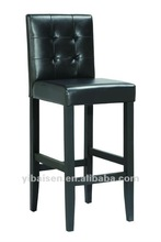 Solid Wood Leather chair Bar Stools