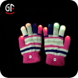 Flashing Festival Gloves for Children