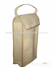 2012 Fashion canvas wine bag
