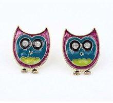lovely cartoon owl earrings