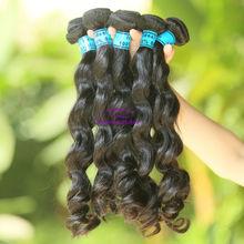 12''-36'' truly human virgin eurasian hair extension of big sexy beautiful cheap hot wholesale