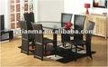 ucuz aile cam masa yemek odası seti masa ve sandalye