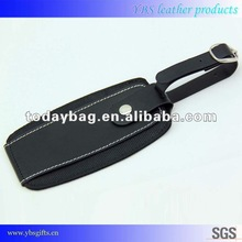 Leather travel airline luggage tag YBS-LT126