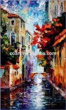 Canvas Autumn Landscape Art Oil Paintings from Famous Artist