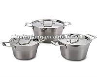 6PCS stainless steel cookware set/kitchenware/casserole