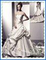 Crea il tuo stile tesoro pick - ups in rilievo una - line abito da sposa 9618