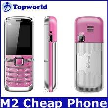 2012 New Fashion Dual Sim Card Cell Phone M2