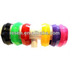 Shining decorative resin bangle hot jewelry trends