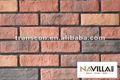 Parede de tijolo vermelho telha como telhas da parede externa 07028-y