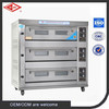 3 decks 9 trays gas oven(ISO,MANUFACTURER)