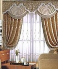 luxury window curtains for hotel