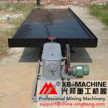 minerai de /chromite de minerai de zircon/minerai de cuivre secouant la table