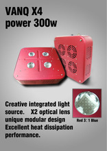 Aluminum Alloy Case led grow light ,hydroponic systems grow light , 300w integrated led for hydroponics
