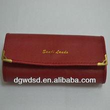 Brilliant Red Leather EVA Glasses Case