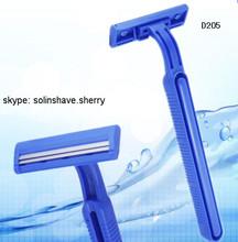D205 twin blade shaving razor ( maquinas de afeitar /Rasoir Jetable /Lames de Rasoir /Hojas de Afeitar)