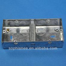 Rectangular switch boxes