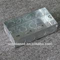 fogo elétrico interruptor de metal caixas