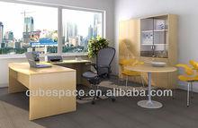 [HOT] [Office Desk Manufacture] Newest Special Design Melamine Office Desk, L Shape Durable Office Desk