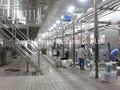 leche pasteurizada de equipos de procesamiento