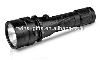 aluminum rechargeable diving led flashlight