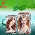 100% غطاء رمادي ضارةسهلة صبغات الشعر العشبية الطبيعية النقية