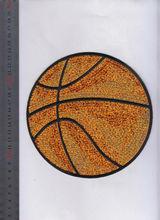 hot! hot fix sequins transfer rhinestone baseketball motifs