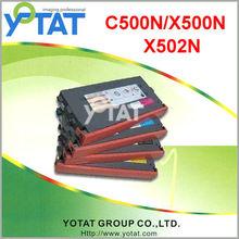 Color laserjet toner cartridge for Lexmark C500H2KG/CG/MG/YG