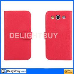 S3/I9300 PU Flip Case POUCH (Lichee) For Samsung Galaxy Note