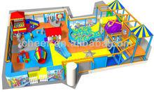 Cheer Amusement 20120514-KZ-003-6 Indoor soft Playground Equipment
