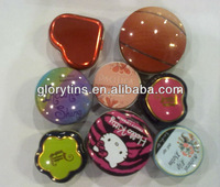 Small cosmetics tin box