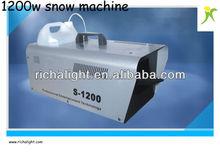 Professional 1200w snow machine stage effect machine