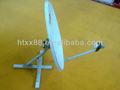 Ku60cm antena parabólica&& plato de la antena