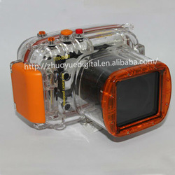 Unique diving photography support universal waterproof camera case underwater 40M for NIKON J1(long shot 10-30mm)