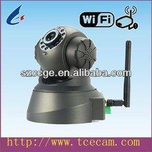 indoor wireless wifi HD PTZ remote control cctv IP camera