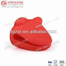 2012 new design heat resistant silicone glove