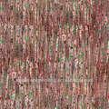 Wasserdichtes Blumendiamantmuster druckte gesponnene Gewebehose 100% und -kleidung des Polyester Material