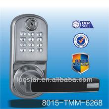digital keypad access ibutton electronic hidden cylinder lock